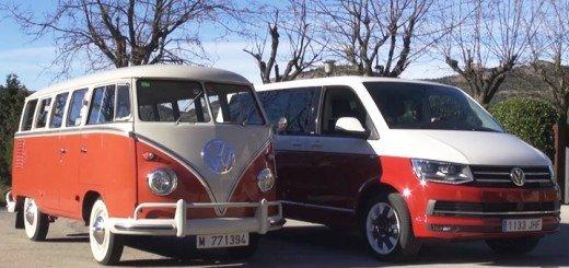 Volksvagen T1 y T6