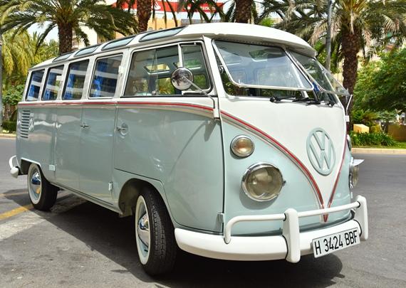 Coche clasico Hippie en Valencia