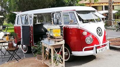 Alquiler de Volkswagen T1 para bodas
